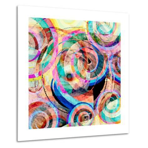 Abstract Colorful Background-Tanor-Metal Print