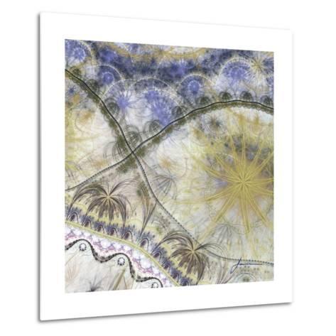 Bedouin Map I-James Burghardt-Metal Print