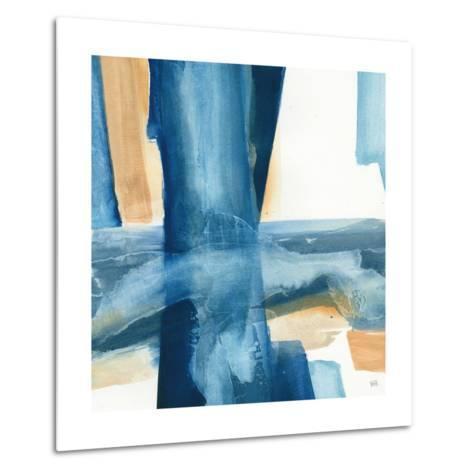 Indigo V-Chris Paschke-Metal Print