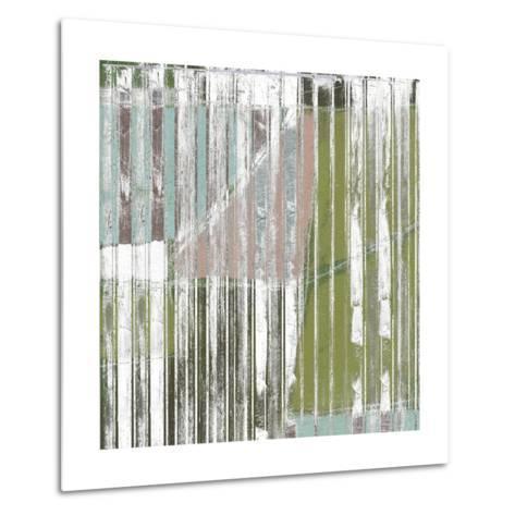 Linear Mix I-Jennifer Goldberger-Metal Print