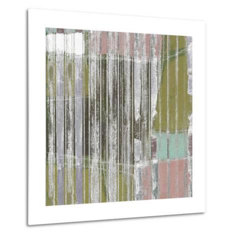 Linear Mix III-Jennifer Goldberger-Metal Print