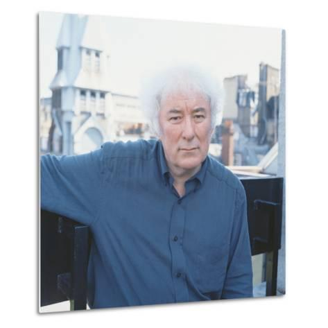 Seamus Heaney, 1996--Metal Print