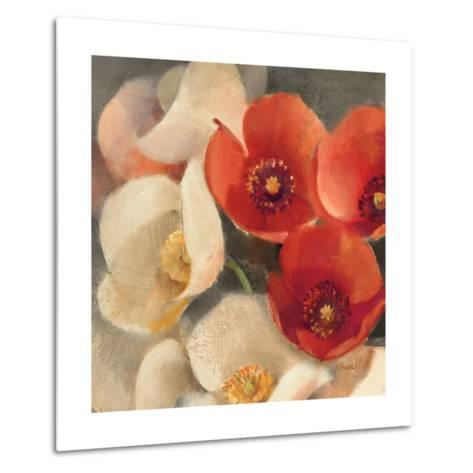 Poppies Bloom III-Albena Hristova-Metal Print