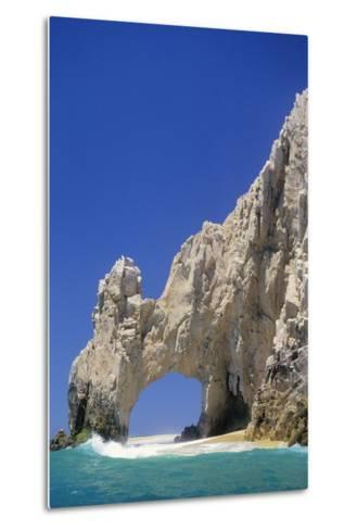 El Arco, Sea Arch at Cabo San Lucas-Kerrick James-Metal Print
