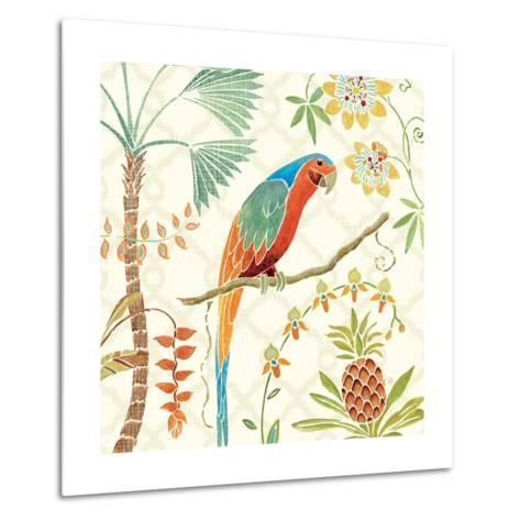 Tropical Paradise III-Daphne Brissonnet-Metal Print