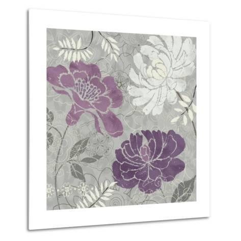 Morning Tones Purple I-Daphne Brissonnet-Metal Print