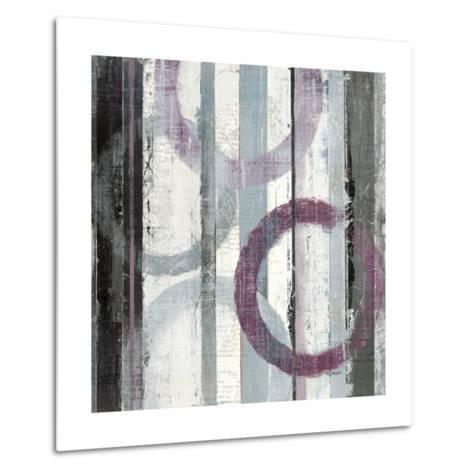 Plum Zephyr II--Metal Print