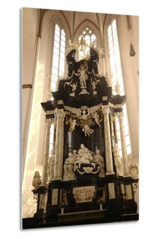 Baroque Style Altar in Jacobikirche (St James's Church--Metal Print