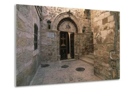 Entrance to the Church of St Mark--Metal Print