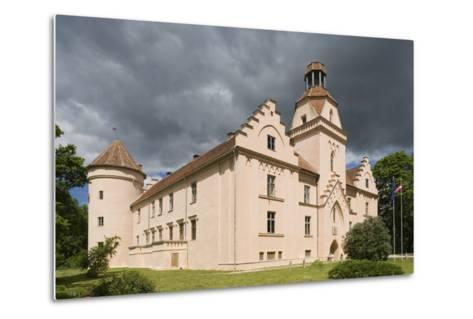 Bishop's Castle (Founded in 13th Century) in Edole--Metal Print
