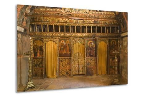 Frescoes in Church of Archangels Michael and Gabriel (18th Century)--Metal Print