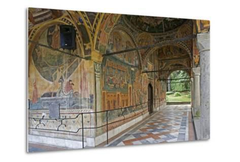 Frescoes of Zakharii Khristovich Zograf (1840) in Narthex of Most Holy Mother of God Church (1835)--Metal Print