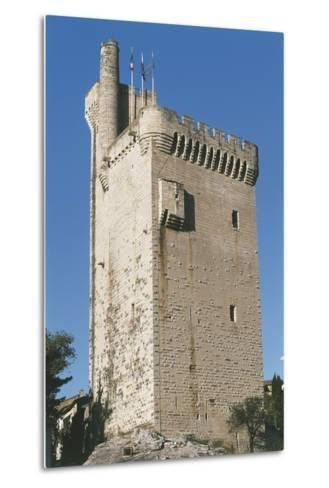Low Angle View of a Tower--Metal Print