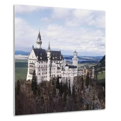 Neuschwanstein Castle--Metal Print