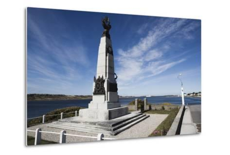 Monument to Celebrate British Victory in Naval Battle of 8 December 1914 Between Royal Navy and Imp--Metal Print