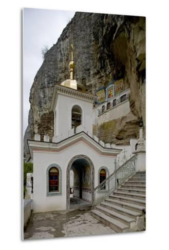 The Bell Tower of the Dormition (Assumption) Cave Monastery--Metal Print