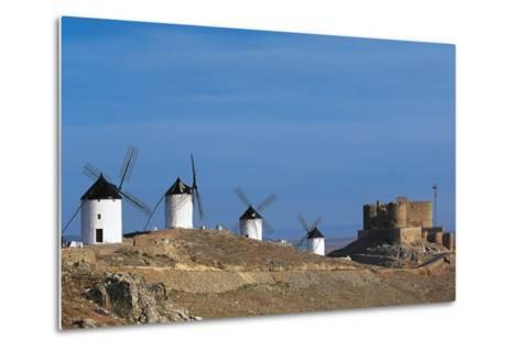 Windmills of Consuegra--Metal Print