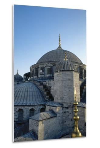 Turkey. Istanbul. Sultan Ahmed Mosque or Blue Mosque.1609-1616. Architect--Metal Print