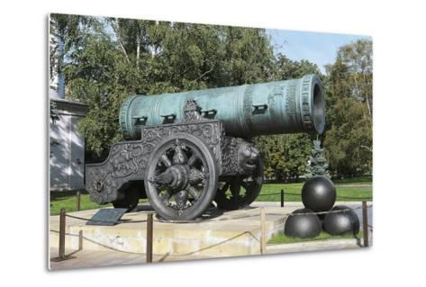 Tsar Cannon--Metal Print