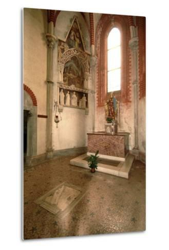 Tomb (Mid-14th Century) of Abbot Tommaso Gallo (Died in 1246)--Metal Print