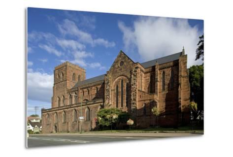 Shrewsbury Abbey (Abbey Church of Saints Peter and Paul)--Metal Print
