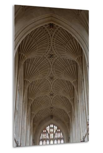 Fan Vaulting in the Abbey Church (1499) Bath (Unesco World Heritage List--Metal Print