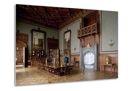 Tudor Style Dining Room in Vorontsov Palace--Metal Print