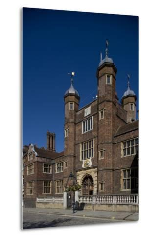 Entrance to Hospital of Blessed Trinity known as Abbot's Hospital Commissioned by George Abbot--Metal Print