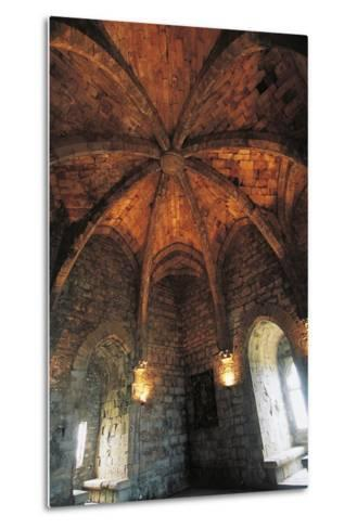 Ceiling of Musicians Hall--Metal Print