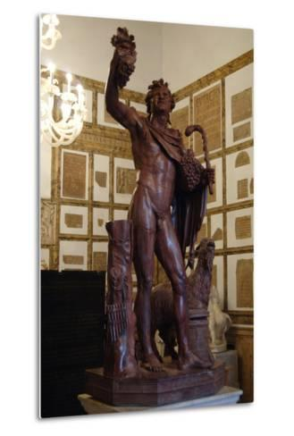Faun in Red Marble. 2nd Century A.D. Copy. Capitoline Museums. Rome. Italy--Metal Print