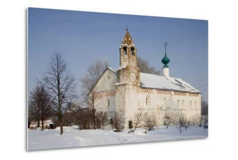 Church Within the Convent of the Intercession, Founded in 1364, Suzdal, Golden Ring, Russia--Metal Print