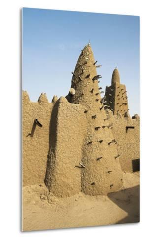 Djinguereber Mosque, 1327, Built by Musa I Emperor of Mali, Timbuktu, Mali--Metal Print