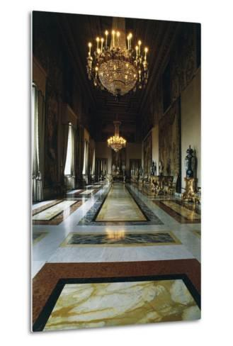 Hall of Augustus (Formerly Throne Room), Quirinal Palace, Rome, Lazio, Italy--Metal Print