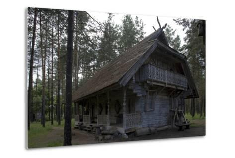 Girios Aidas (Echoes of Forest) Museum of Natural History, Druskininkai, Alytus County, Lithuania--Metal Print