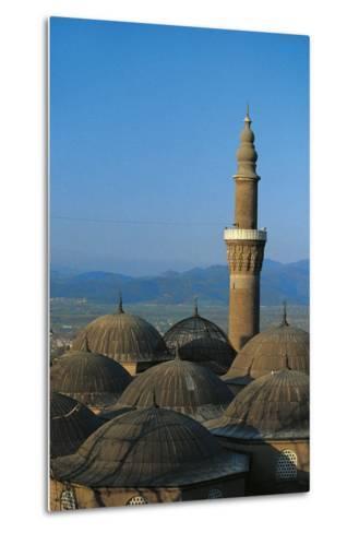Minaret of Bursa Grand Mosque (Ulu Cami), 15th Century, Bursa, Marmara, Turkey--Metal Print