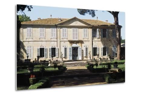 Chateau of La Mogere, 18th Century, Montpellier, Languedoc-Roussillon, France--Metal Print