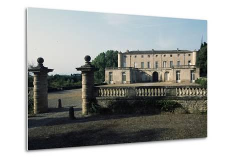 Chateau of Lavagnac, Montagnac, 17th-18th Century, Languedoc-Roussillon, France--Metal Print