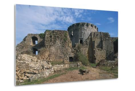 The Ruins of Chateau of Tonquedec, Originally from 12th Century, Brittany, France--Metal Print