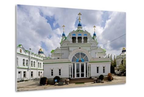 The Facade of the Orthodox Sv Ekaterininskaya Church, Feodosia, Crimea, Ukraine--Metal Print