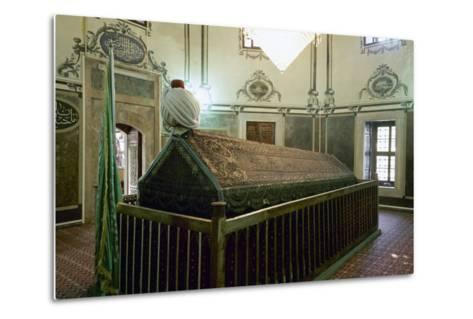 Tomb of Sultan Bayezid II (1447-1512). Ottoman Empire. Istanbul. Turkey--Metal Print