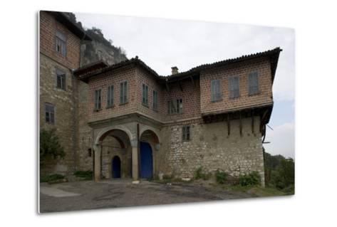 The Transfiguration Monastery (Preobrazenski Manastir), Ca 1850, Near Veliko Tarnovo, Bulgaria--Metal Print