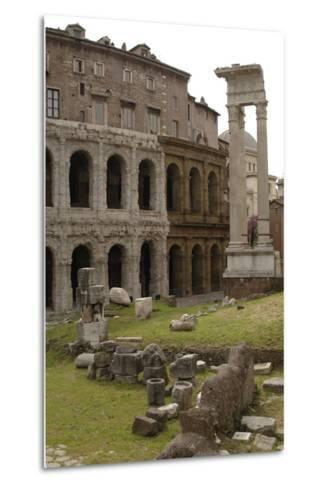 Italy, Rome, Theatre of Marcellus, 1st Century BC--Metal Print
