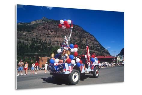 Parade, July 4th, Ouray, Colorado--Metal Print