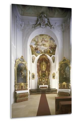 Chapel of St. Joseph, Jemništ? Château--Metal Print