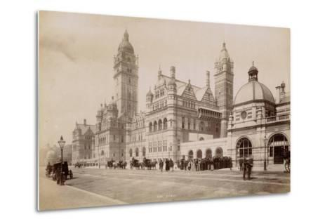 South Kensington Station, London, C.1885--Metal Print