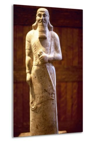 Assyrian King Ashurnasirpal II--Metal Print