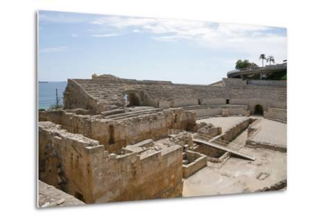 Spain, Tarragona, Roman Amphitheatre, 2nd Century Ad--Metal Print
