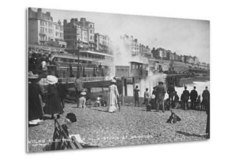 Volk's Electric Railway, Brighton--Metal Print