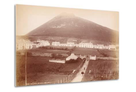 The Colony, Achill Island, Ireland--Metal Print
