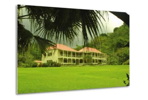 Villa Vailima, Apia, Samoa--Metal Print